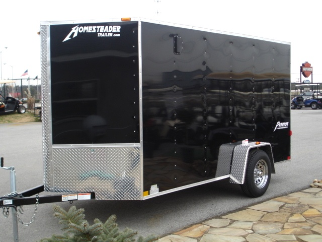 2015  Patriot V Nose Motorcycle Enclosed Trailer   Trailers For Sale