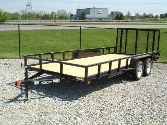Lone Wolf  7 X 18 Landscape Trailer 865-984-4003 Trailers For Sale