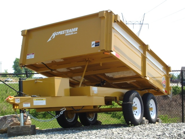 6 X 10  Homesteader Dump Trailer Call 865-984-4003 Trailers For Sale
