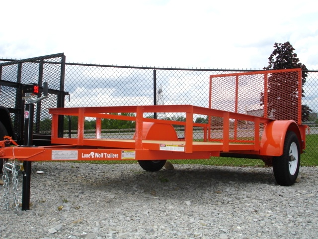 2015 5 x 10 Utility Trailer Ramp Gate  Trailers For Sale