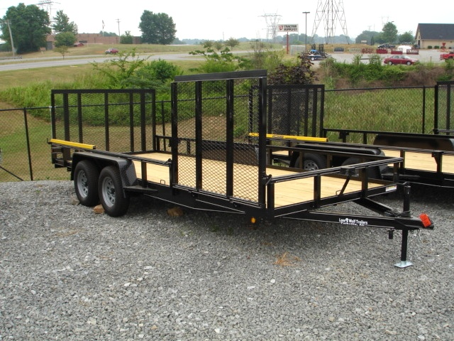 7 X 18  Lone Wolf Landscape Trailer Trailers For Sale