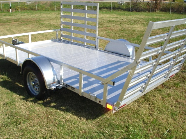 Aluminum Trailer 7 x 12 Best Quality and Value Side Gate Trailers For Sale