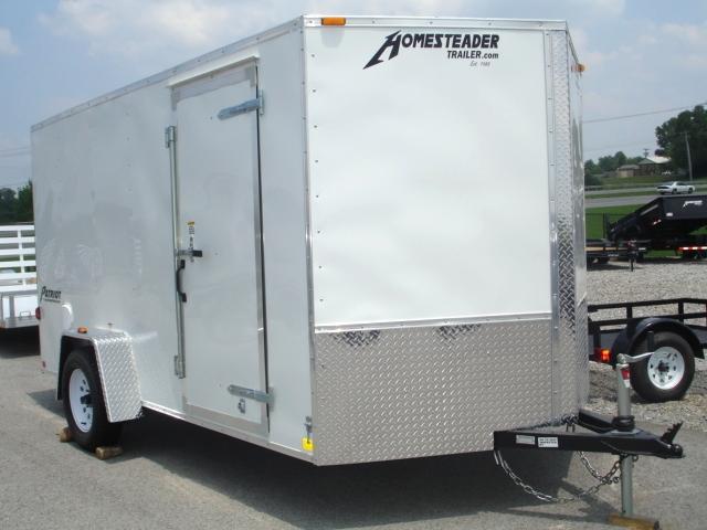 Homesteader 7 X 12 Enclosed Caro Trailer Ramp Door Pkg Trailers For Sale