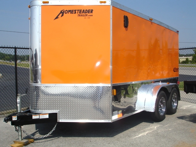 Homesteader EZ Rider Enclosed Trailer Trailers For Sale