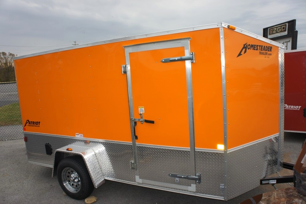 Homesteader 6 X 12 PS Patriot Enclosed Trailer Trailers For Sale