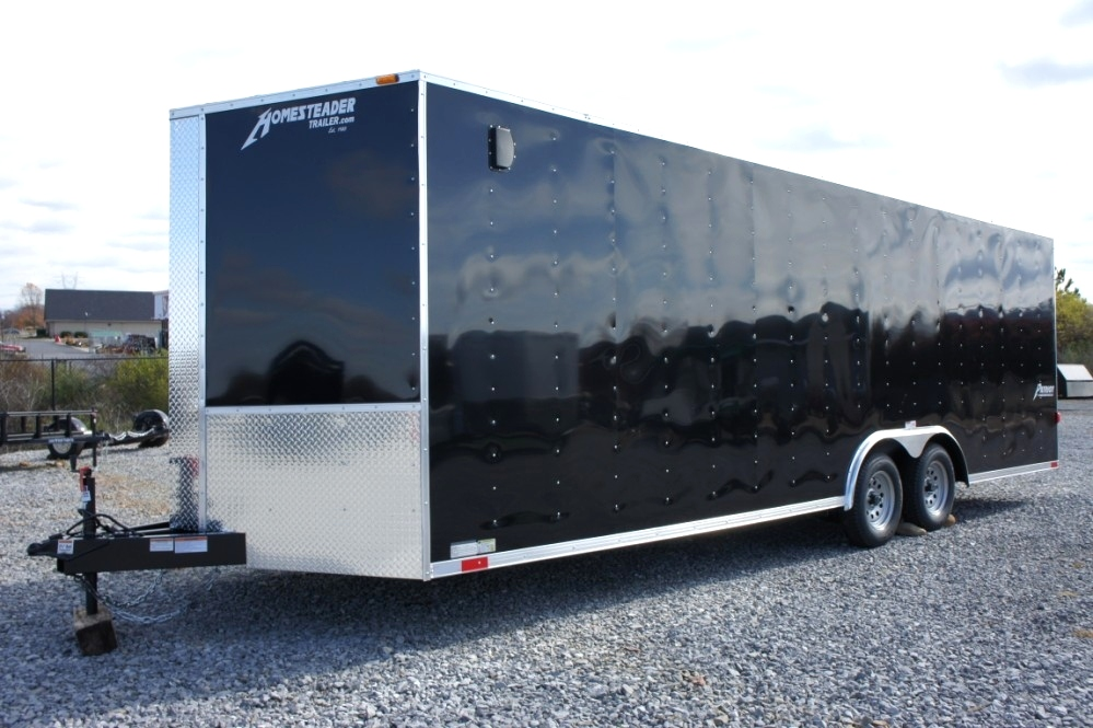 Homesteader 20 X 8.5 Enclosed Trailer Trailers For Sale