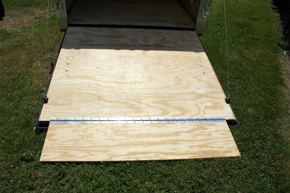 2015 Homesteader Enclosed Trailer Ramp Door Pkg  Trailers For Sale