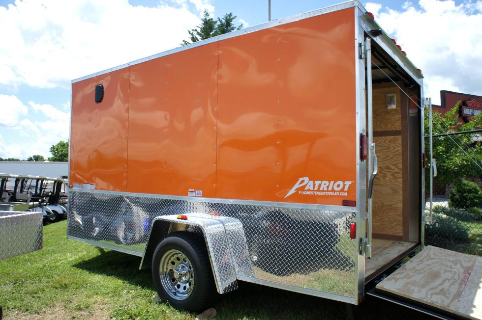 2015 Homesteader Enclosed Trailer Ramp Door Pkg  Trailers For Sale