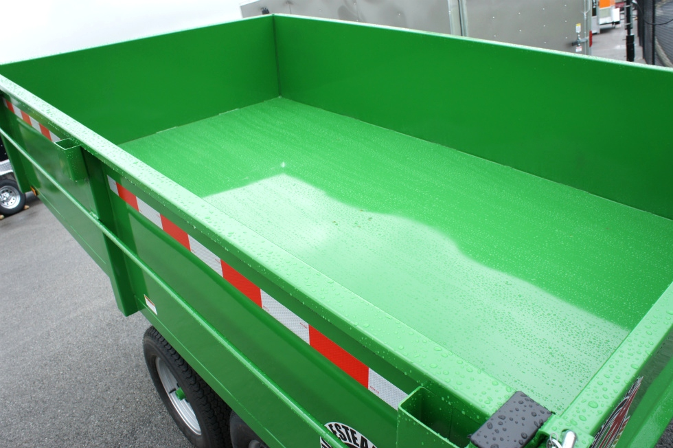 Homesteader 6 X 10 LB Dump Trailer New  Trailers For Sale