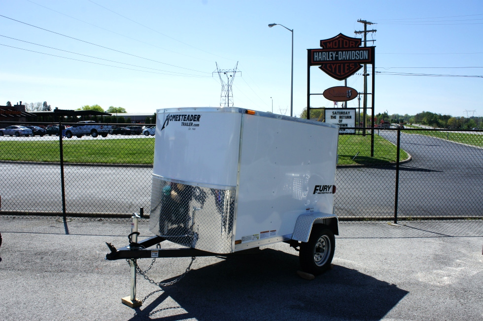 4 X 6 Homesteader Fury Enclosed Trailer Trailers For Sale