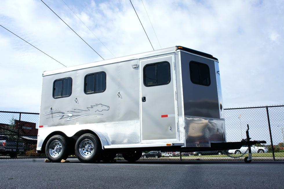 Homesteader Stallion 2 Horse Front Load-Bumper Trailer 2015 Trailers For Sale