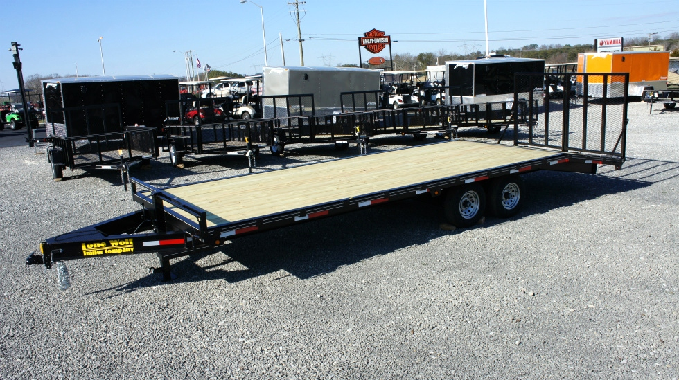 2015 Lone Wolf Atv Golf Car Bumper Pull Trailer Trailers For Sale